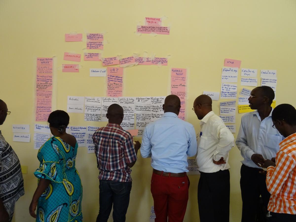 Projet d'appui aux organisations burundaises par le renforcement des compétences des ressources humaines (PAORC)