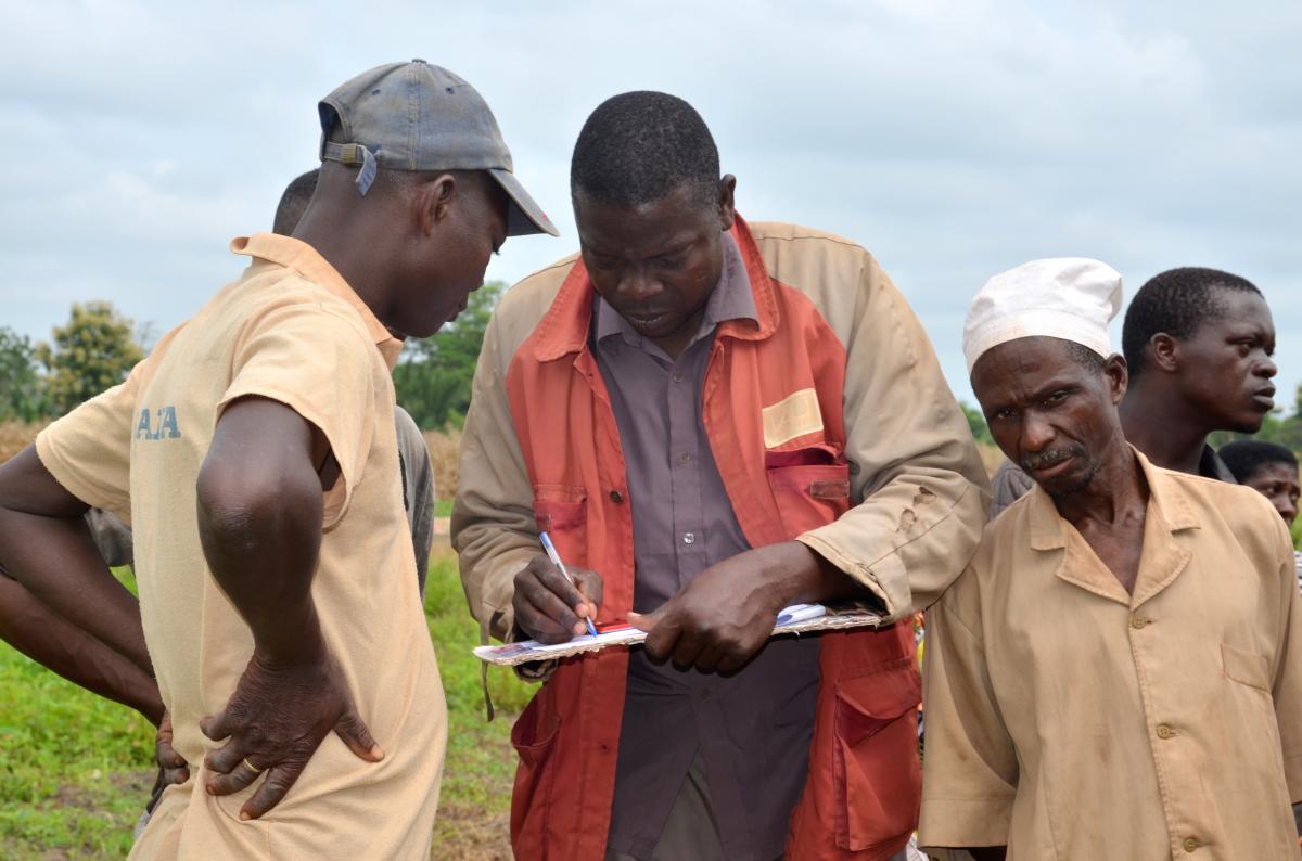 « Appui opérationnel » du Programme d'appui à l'agriculture (PROFI)