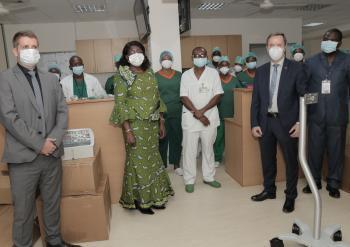 Appui au renforcement du système de santé dans le cadre de la riposte à la crise sanitaire liée au COVID-19
