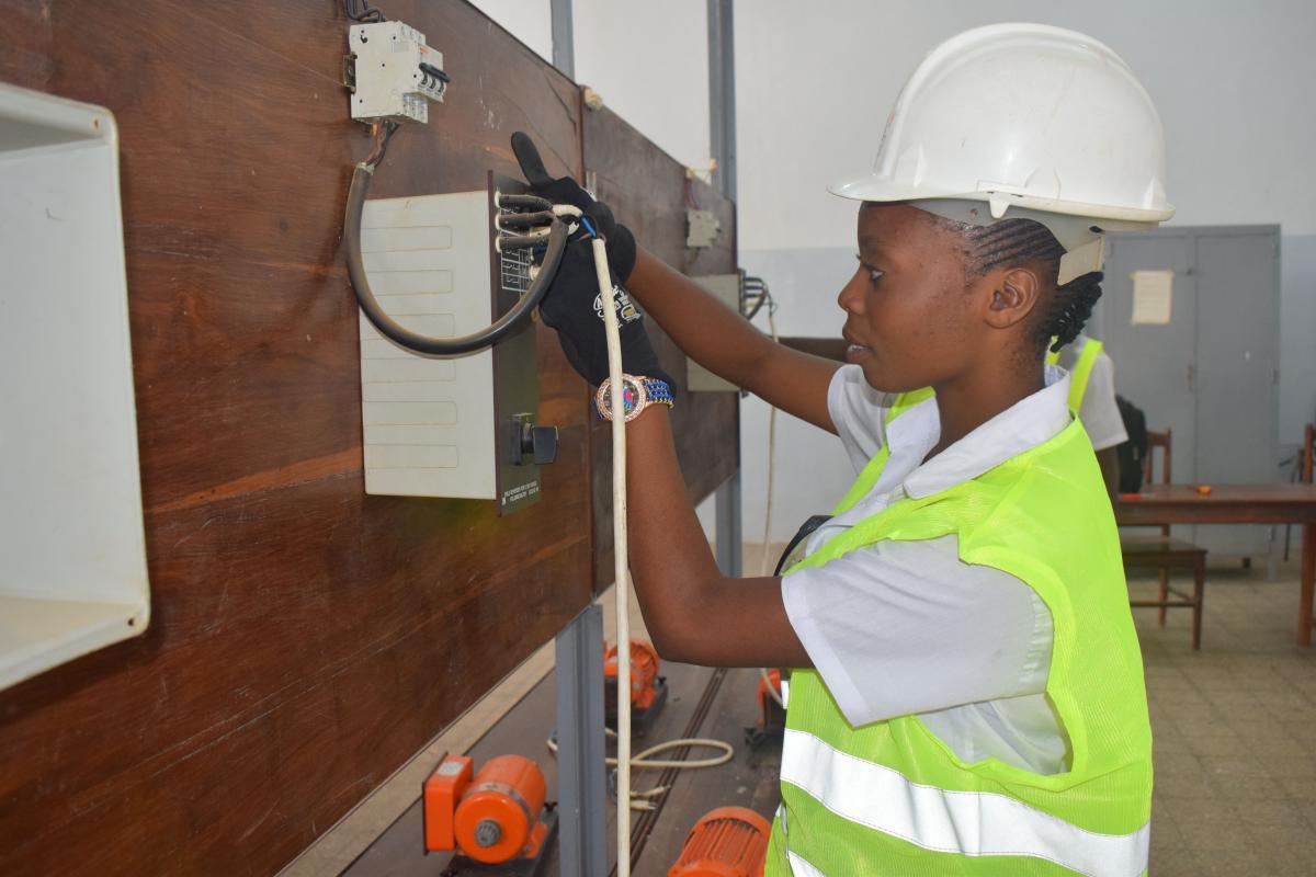 Programme de soutien à l'insertion économique des jeunes de Kinshasa dans des emplois décents