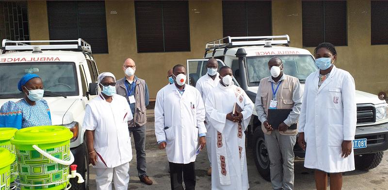 Renforcement de l'hopital St Joseph à Kinshasa pour la riposte au Covid-19 dans le cadre d'une approche structurelle du renforcement du système de san