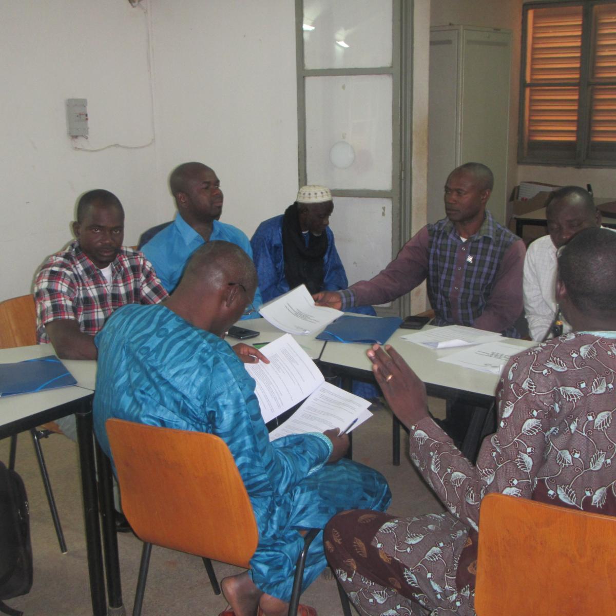 Renforcement des capacités des institutions et des acteurs de la société civile au niveau de la région de Koulikoro et le niveau central.