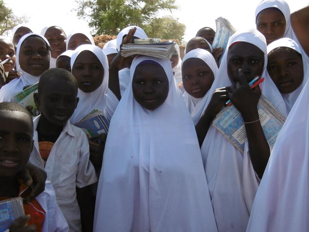 Appui à la scolarisation des jeunes filles dans les communes de la région de Dosso - Sarraounia