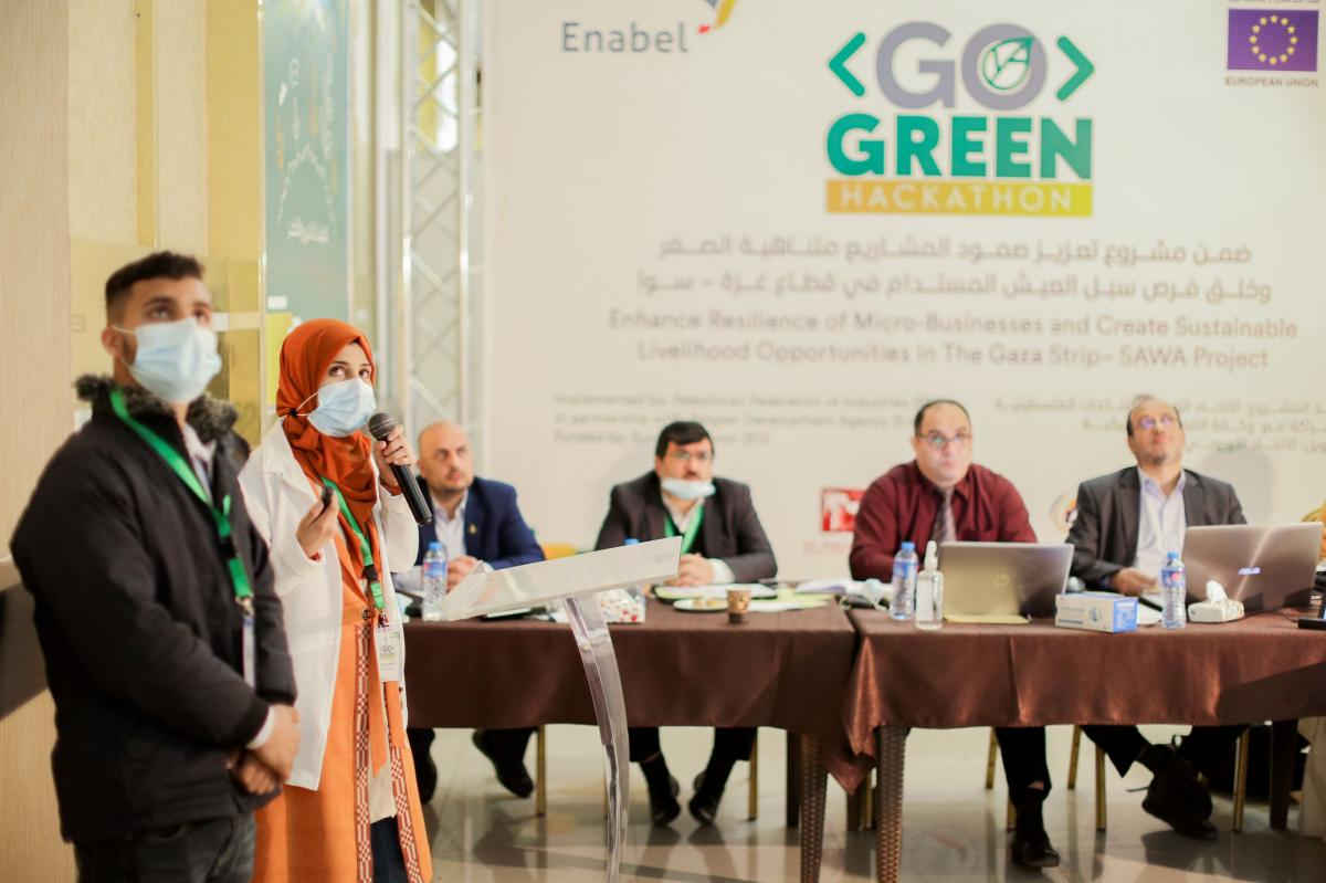Enhance Resilience for Micro-businesses and Create Sustainable livelihood Opportunities in the Gaza Strip