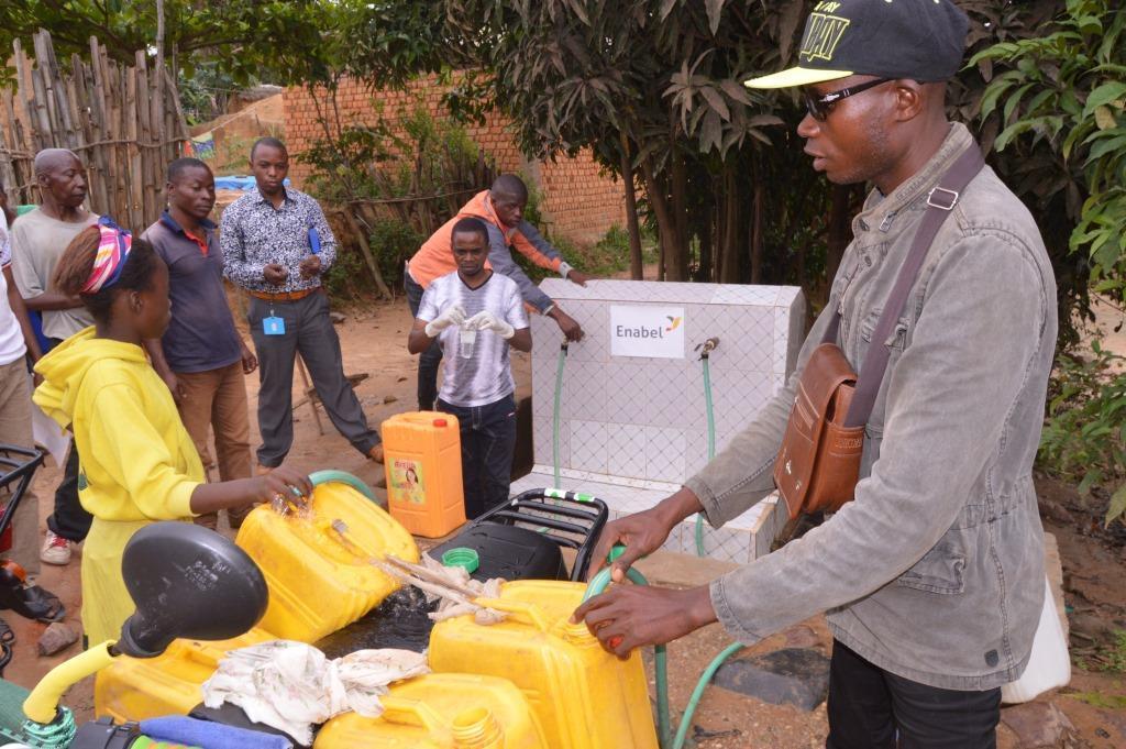 Projet d'extension et de consolidation des systèmes d'approvisionnement en eau potable et d'assainissement dans la province du Maniema