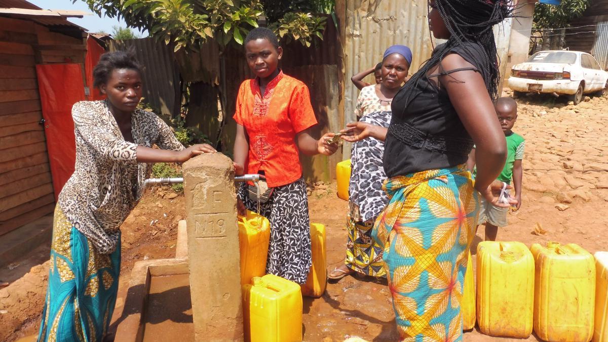 Projet d'extension et de consolidation des systèmes d'approvisionnement en eau potable et d'assainissement dans la province du Sud Kivu