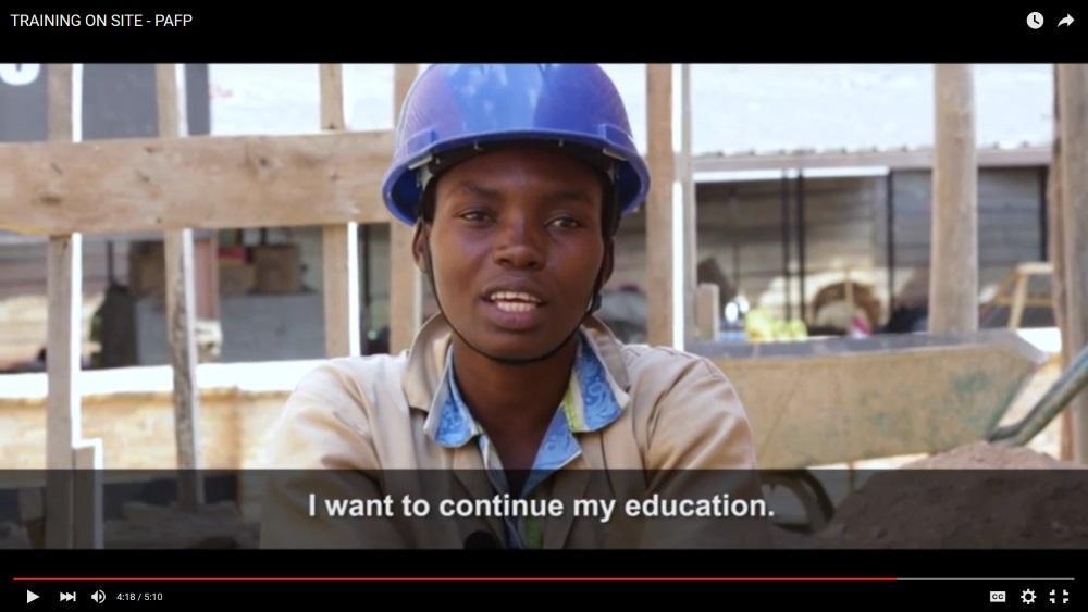Programme d'appui à la formation professionnelle au Rwanda