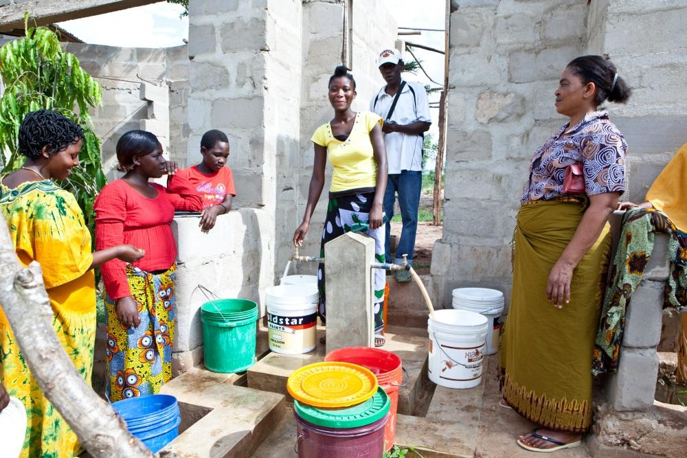 Community Water Supply and Sanitation systems in peri-urban and low income settlements of Dar es Salaam