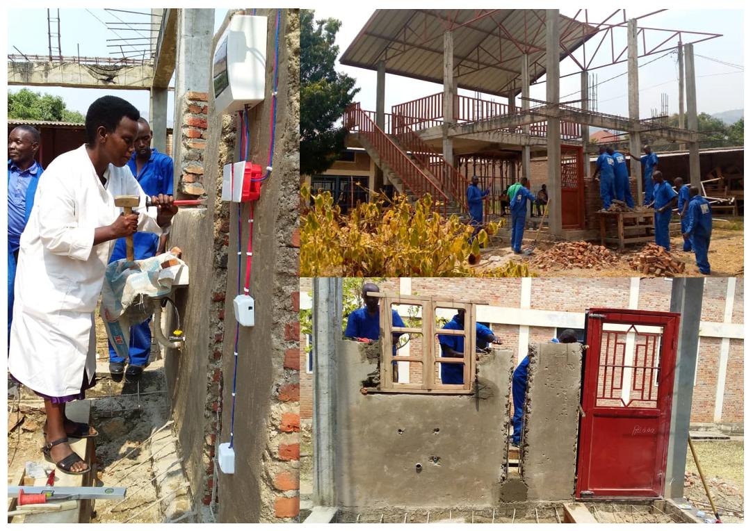 L'amélioration de l'apprentissage des métiers du Bâtiment, un enjeu important de la formation professionnelle au Burundi