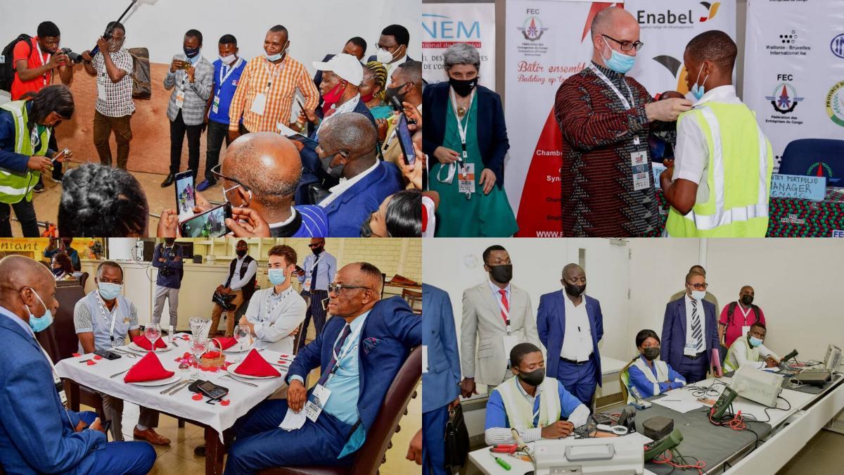 Participation au Salon des Métiers et de la Formation à Lubumbashi