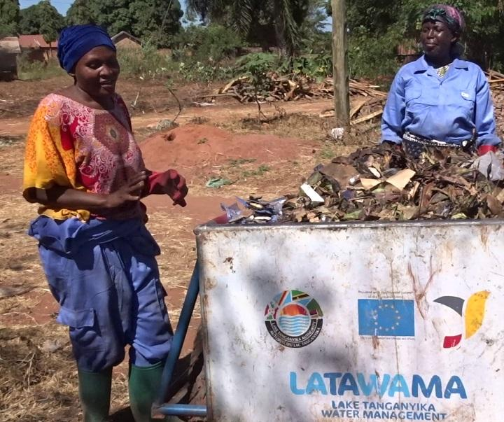 Kigoma, Tanzania: Actions to optimise solid waste management bear fruit: beneficiaries express themselves