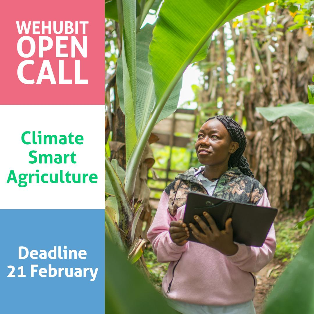 Call for proposal - Climate Smart Agriculture