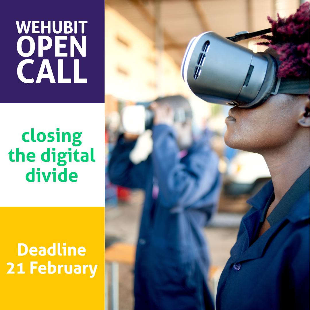 Call for Proposals - Closing the digital divide through education, training and the world of work