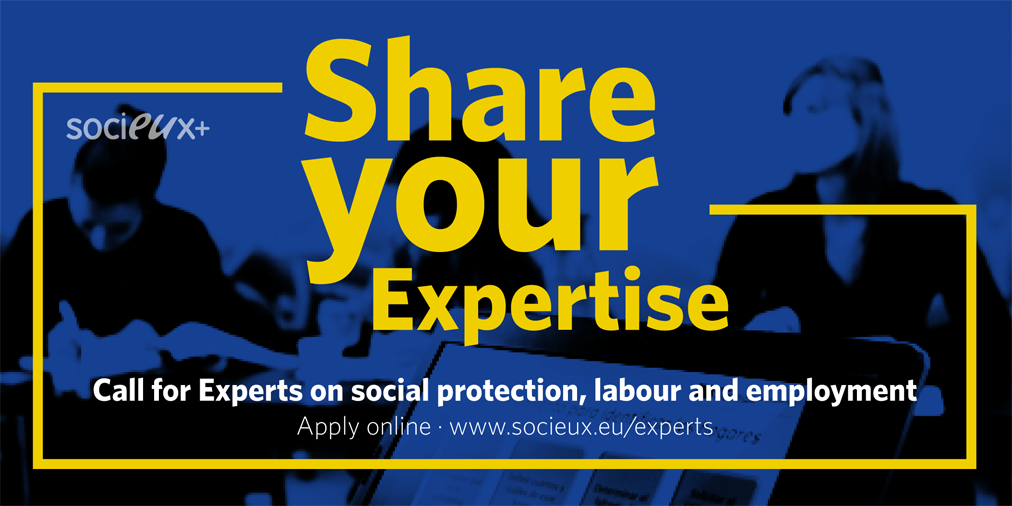 Call for Experts:  Socieux + is looking for expertise!