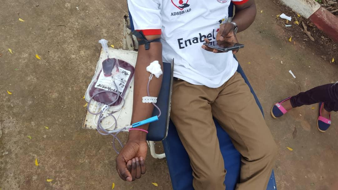 Journée de fidélisation des donneurs de sang à Natitingou: Des centaines de poches de sang collectées pour sauver des vies