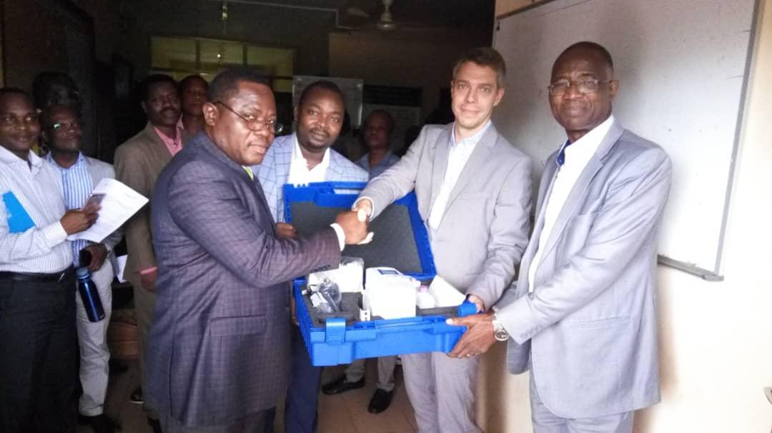 Enabel équipe les formations sanitaires des départements du Mono, Couffo et de la Donga pour  la prise en charge des Maladies Non Transmissibles (MNT)