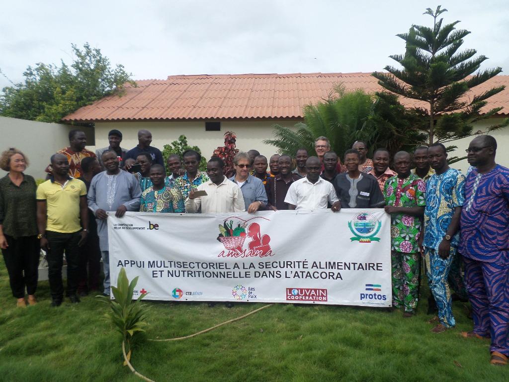 Atelier d'appropriation du programme Appui Multisectoriel à la Sécurité Alimentaire et Nutritionnelle dans l'Atacora (AMSANA)
