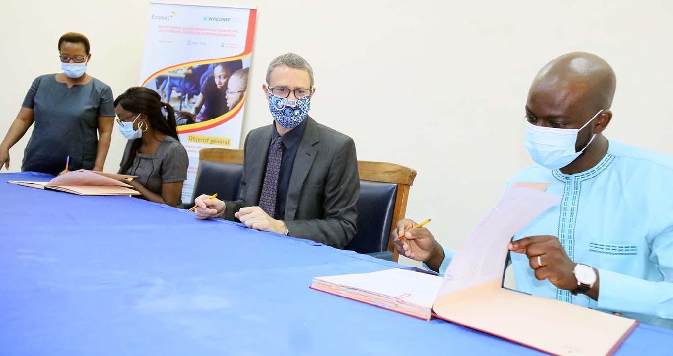 L'accès au financement pour les startups béninoises, Enabel signe un partenariat win-win avec le réseau Bénin Business Angels Network (BBAN)