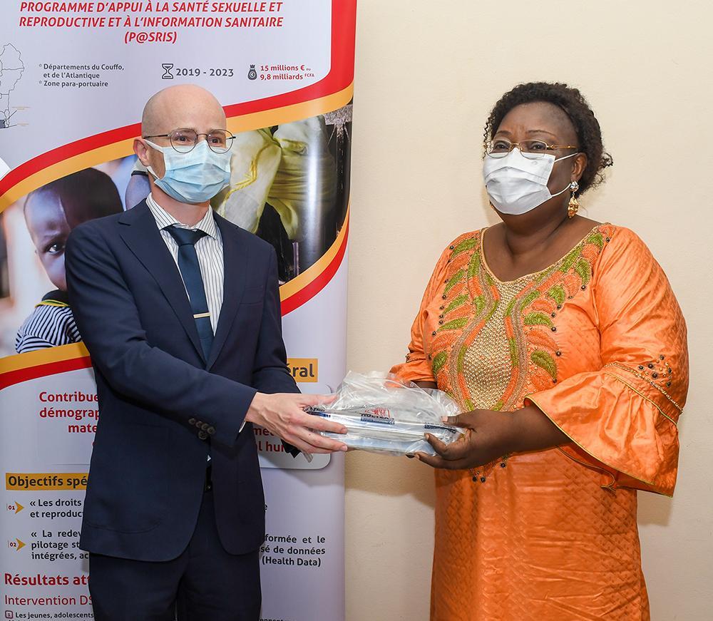 Enabel au Bénin participe à l'amélioration du système d'information sanitaire et la promotion de la recherche en santé