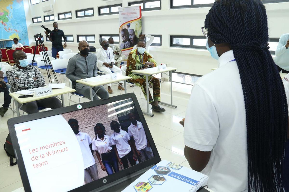 Amélioration des services sanitaires au Bénin : 04 solutions numériques sélectionnées à l'issue du HealthTech Challenge