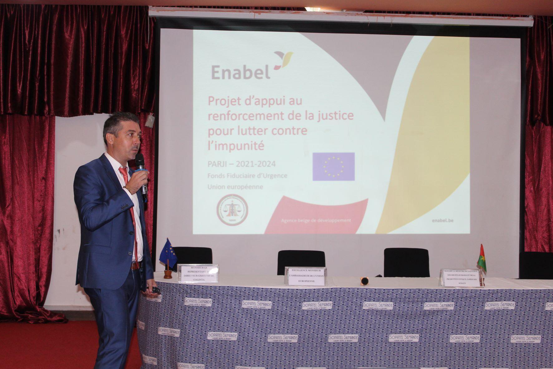 Lutte contre l'impunité au Burkina Faso : Enabel exécutera partiellement le programme justice lancée par l'Union Européenne
