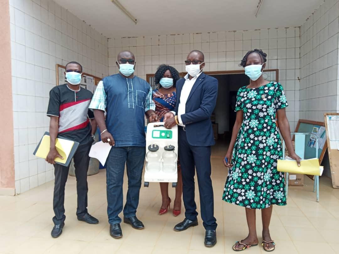 COVID-19 au Burkina Faso : Remise de matériel et de médicaments à la Direction régionale de la santé du Centre-Est
