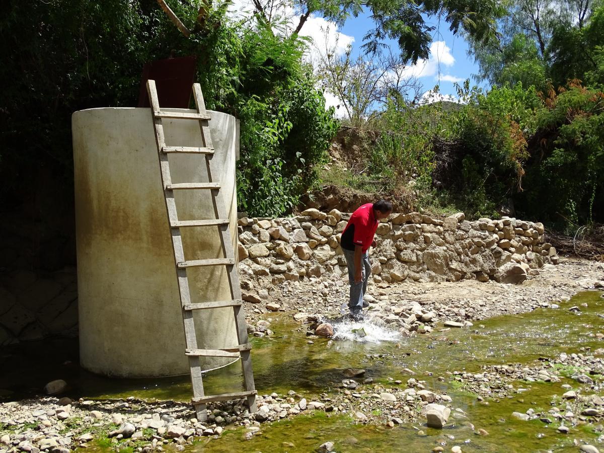 El Programa de Apoyo al Riego Comunitario construye un sistema de microriego para 47 familias en Presto