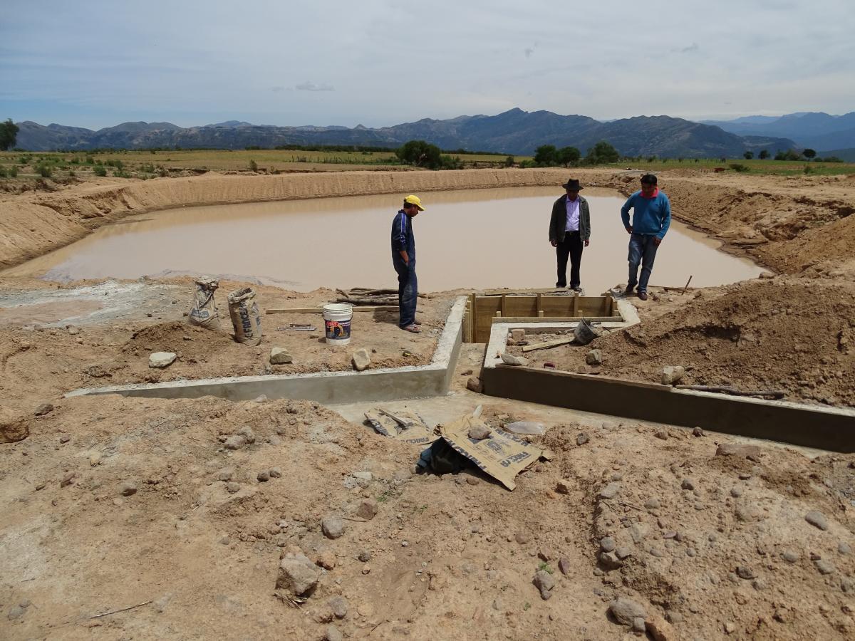 El Programa de Apoyo al Riego Comunitario entrega 7 microsistemas de riego a las familias de Sillani, municipio de Presto