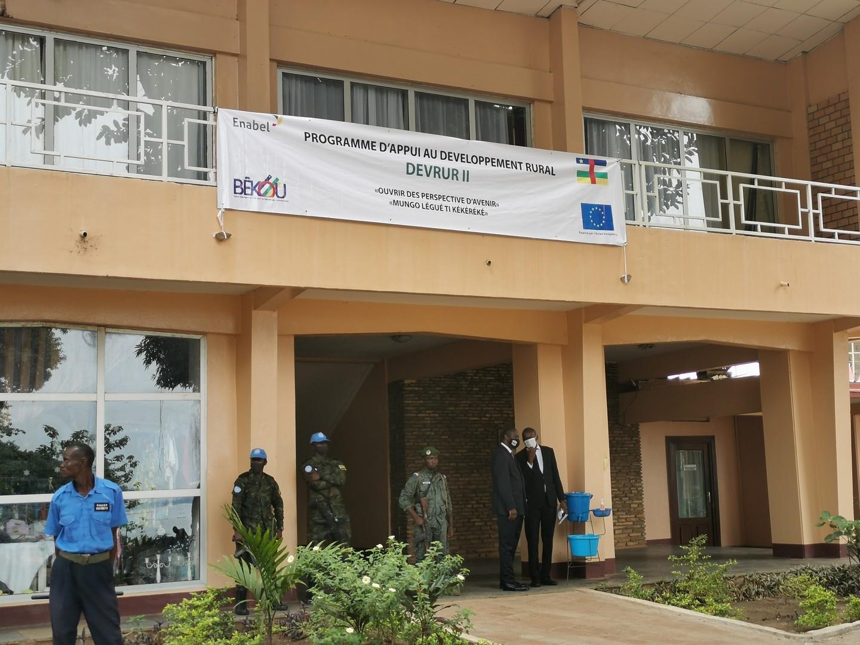 DEVRUR II : Le chef de l'Etat Centrafricain a officiellement lancé le programme à Bangui.
