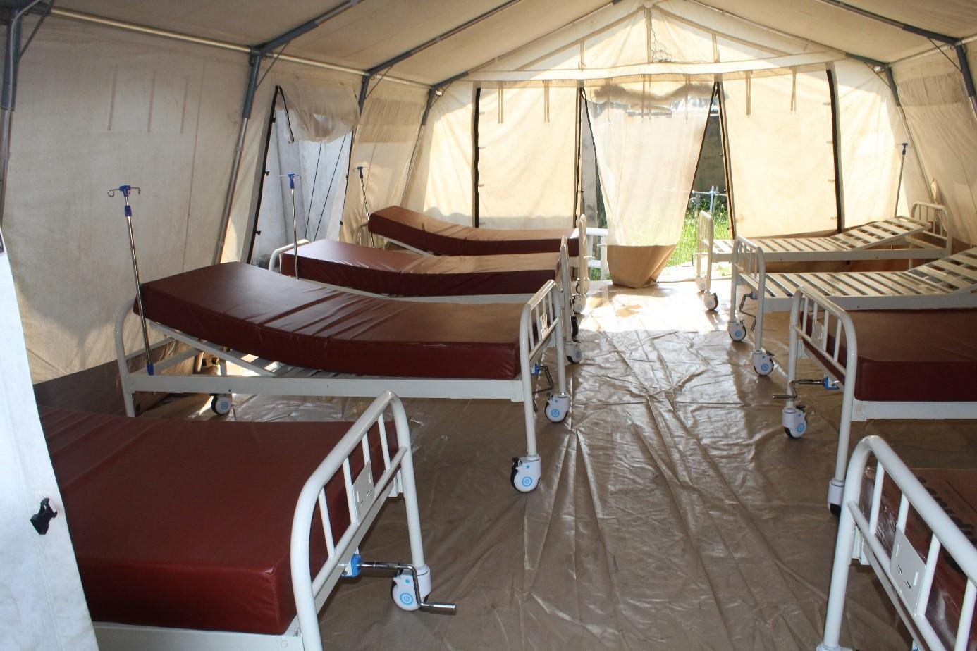 Actions urgentes du programme face à la recrudescence de nouveaux cas confirmés de COVID-19 au CTCo de l'Hôpital Général de Référence Saint Joseph (HG