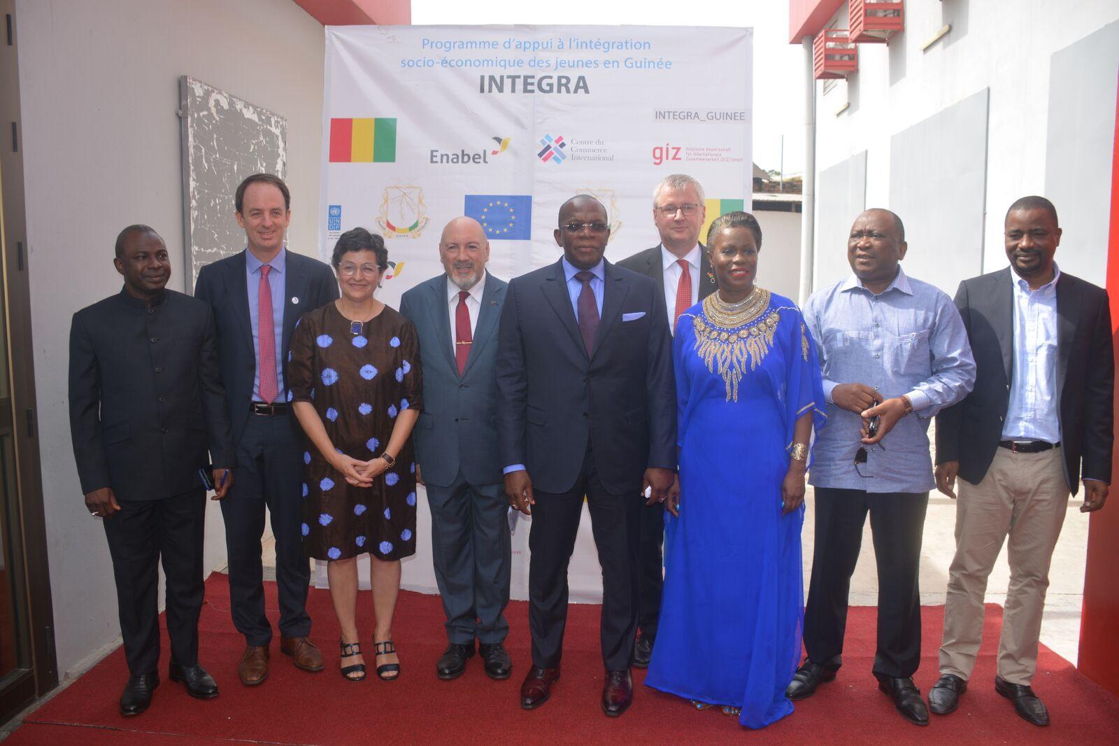 La Guinée et l'Union européenne font appel à Enabel pour la mise en œuvre du programme INTEGRA