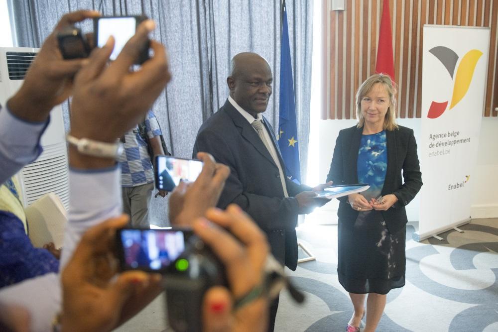 Lancement officiel du projet SANITA (villes propres) en Guinée