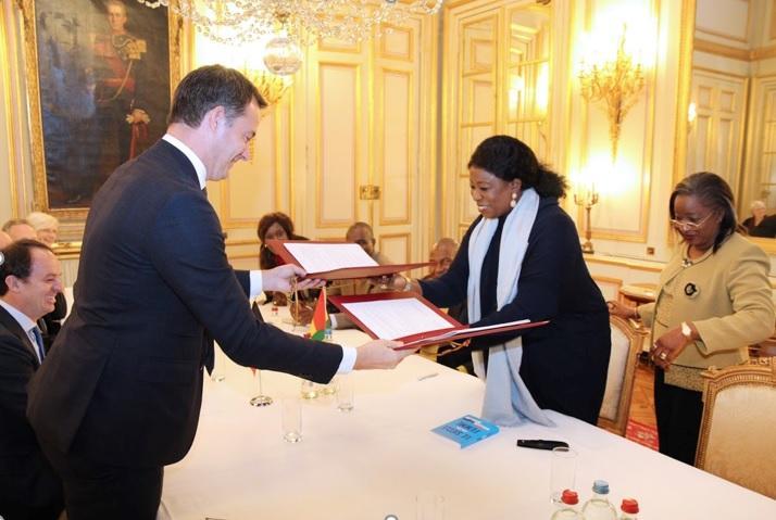 Signature de la convention du nouveau portefeuille Guinée 2019-2023