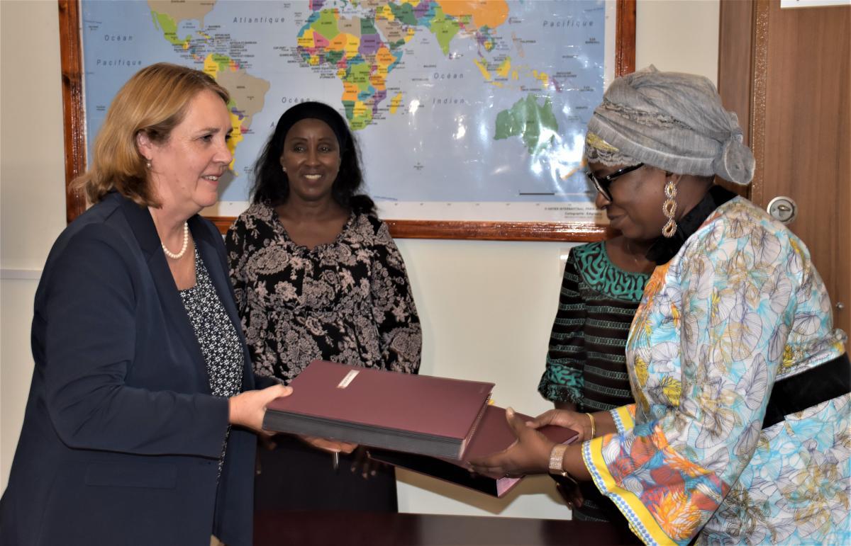 Signature de la lettre d'entente relative au nouveau portefeuille Bilatéral de l'Agence Belge de Développement Enabel en Guinée avec le Ministère de l