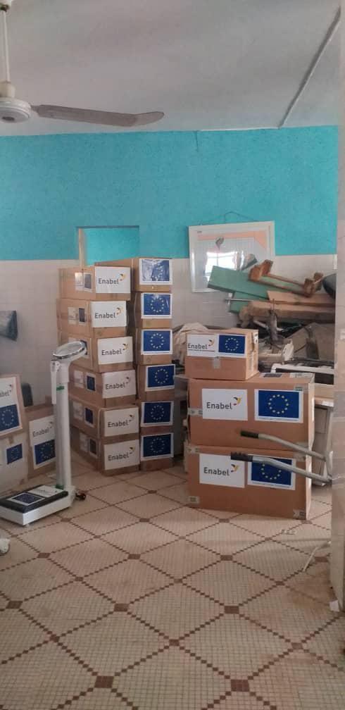 Don d'équipement médical destiné à l'amélioration des structures de santé en Mauritanie