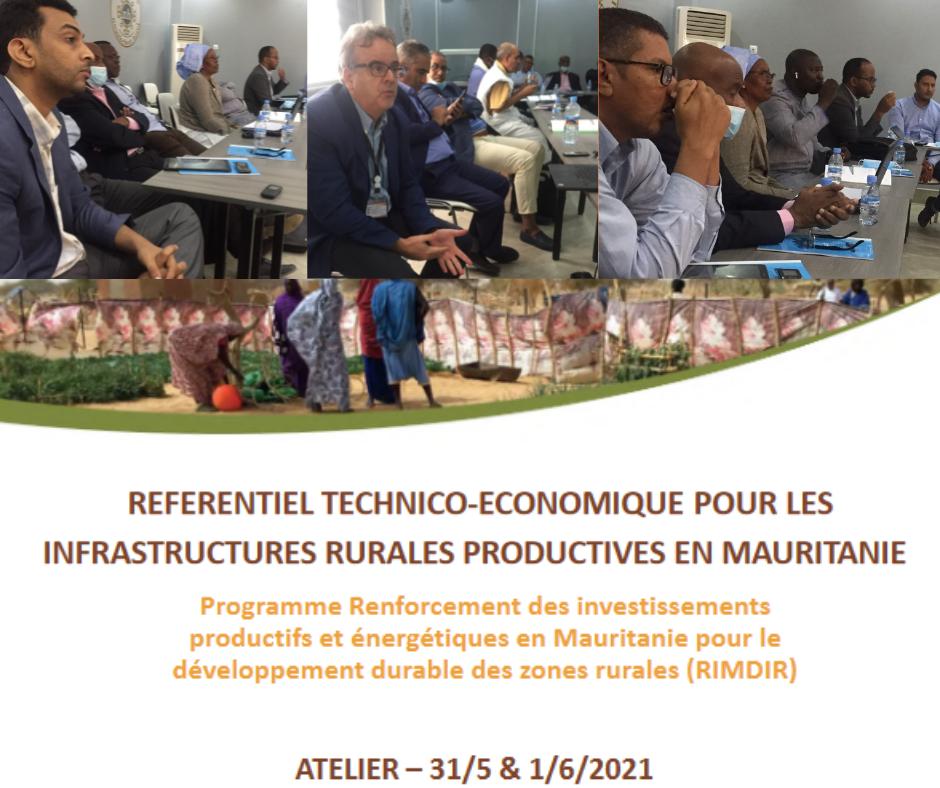 Enabel contribue au renforcement de l'accès aux services et infrastructures productives en Mauritanie