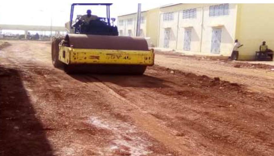 Point d'avancement des travaux du nouveau port de pêche de Mopti