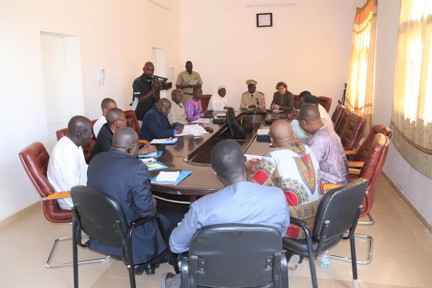 Développement Régional: Le projet d'Accès à l'Eau Potable et Assainissement dans la région de Koulikoro PEPAK a tenu son premier comité de pilotage.
