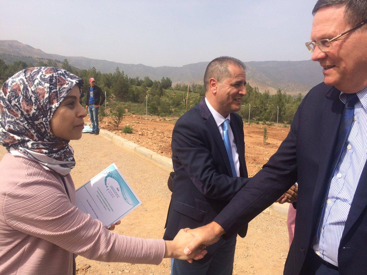 Visite de son Excellence Monsieur l'Ambassadeur du Royaume de Belgique à Debdou