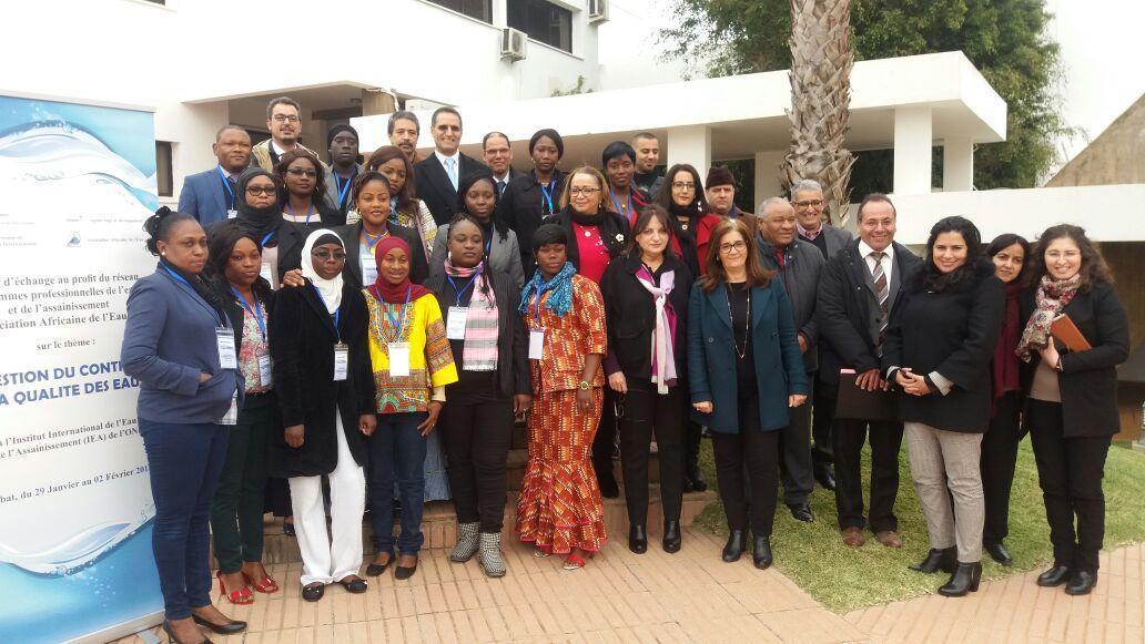 Un atelier pour les femmes de l'Association Africaine de l'Eau