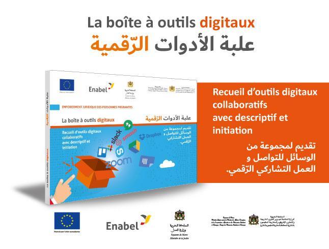 La boîte à outils digitaux Un guide pratique pour les associations en contact avec les personnes migrantes au Maroc