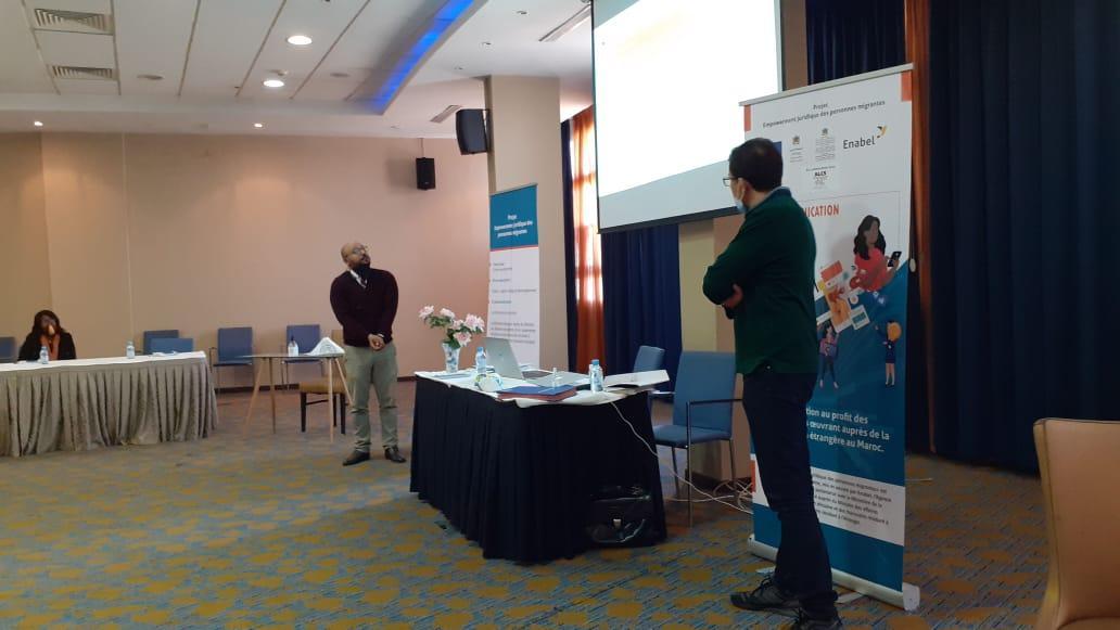 Atelier sur la communication digitale - Maroc