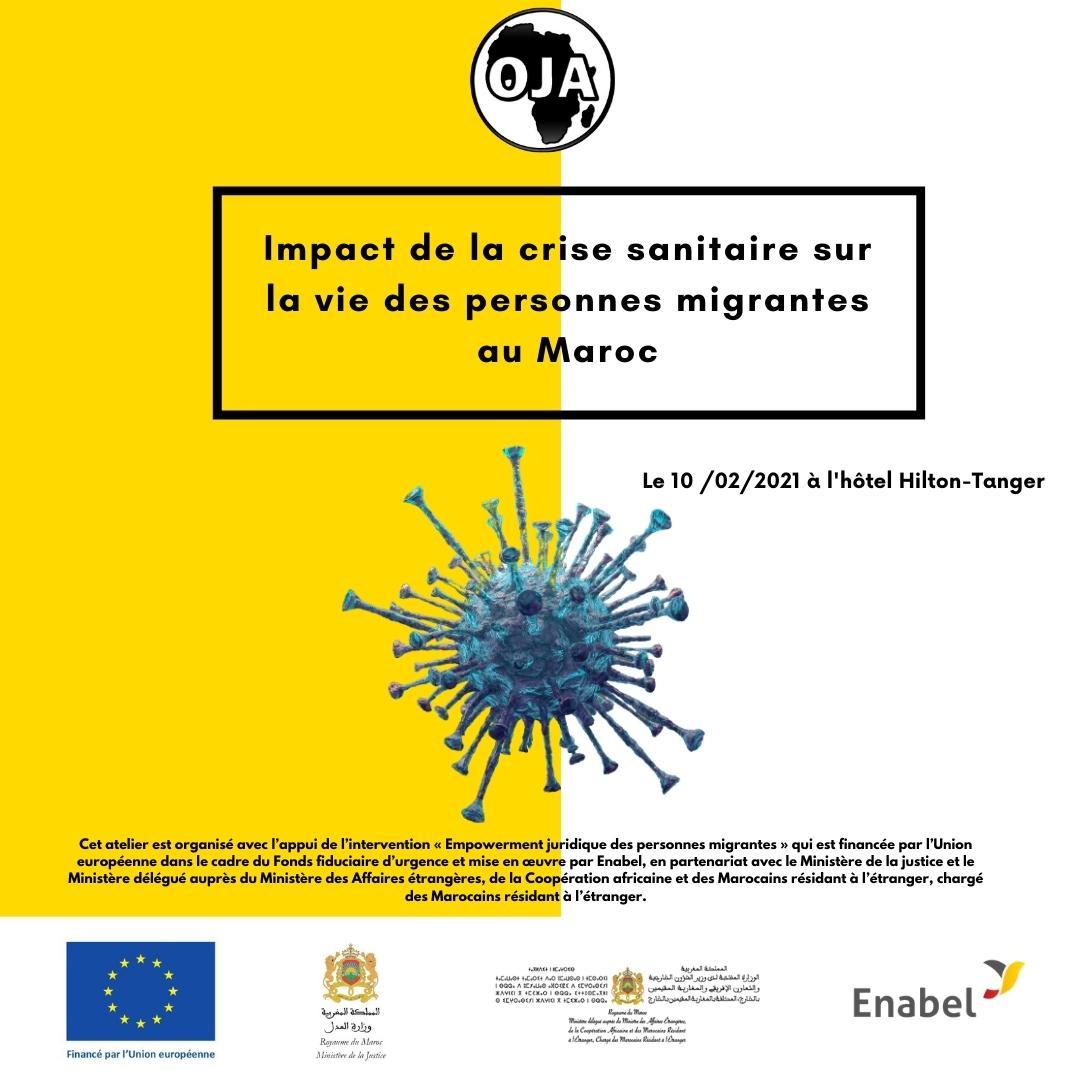 L'impact de la crise sanitaire sur la vie des personnes migrantes au Maroc
