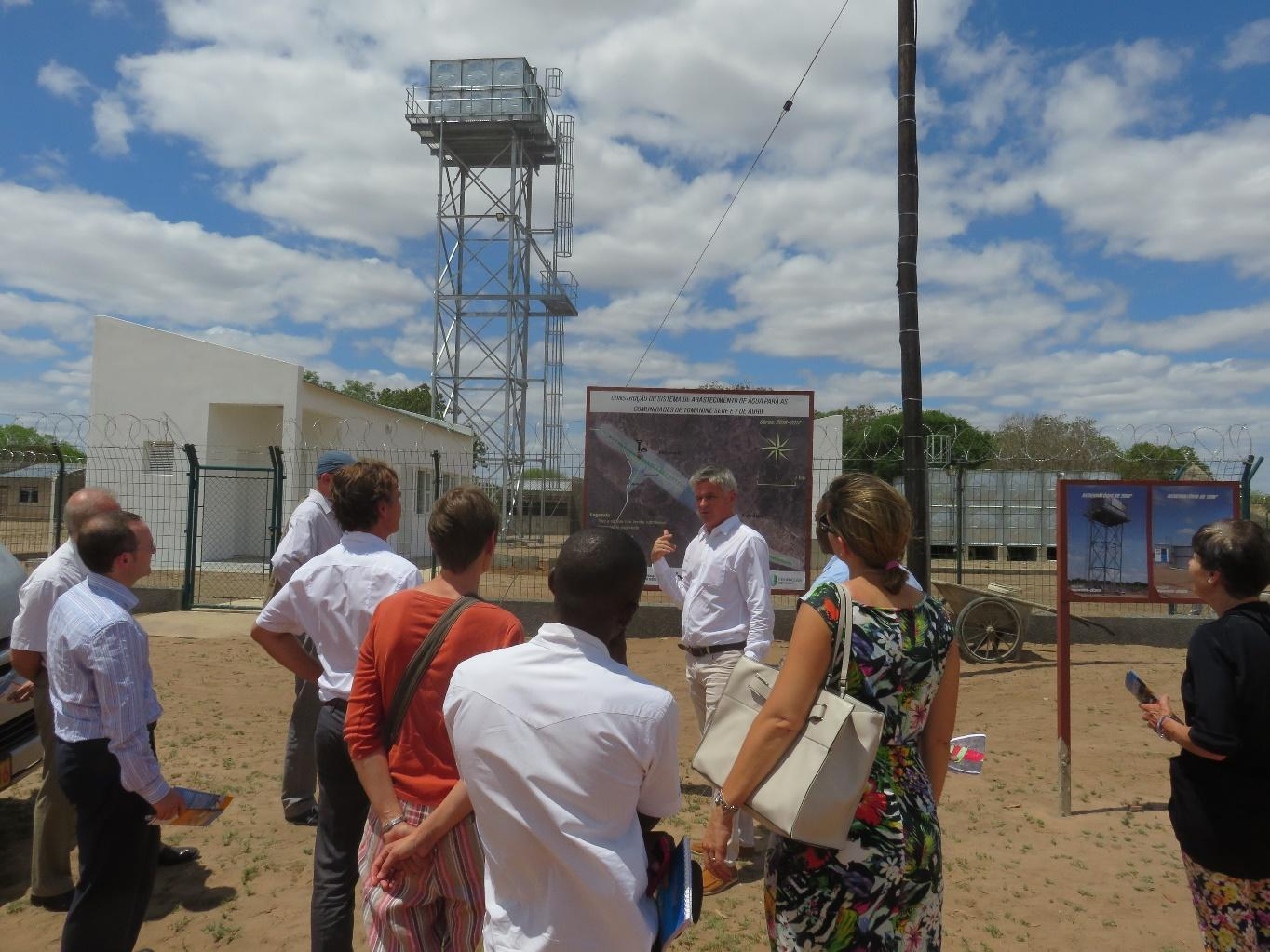 EU Heads of Missions visit to BTC Water Supply Project!