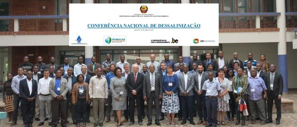 BTC MOZAMBIQUE ORGANIZES NATIONAL CONFERENCE ON DESALINATION
