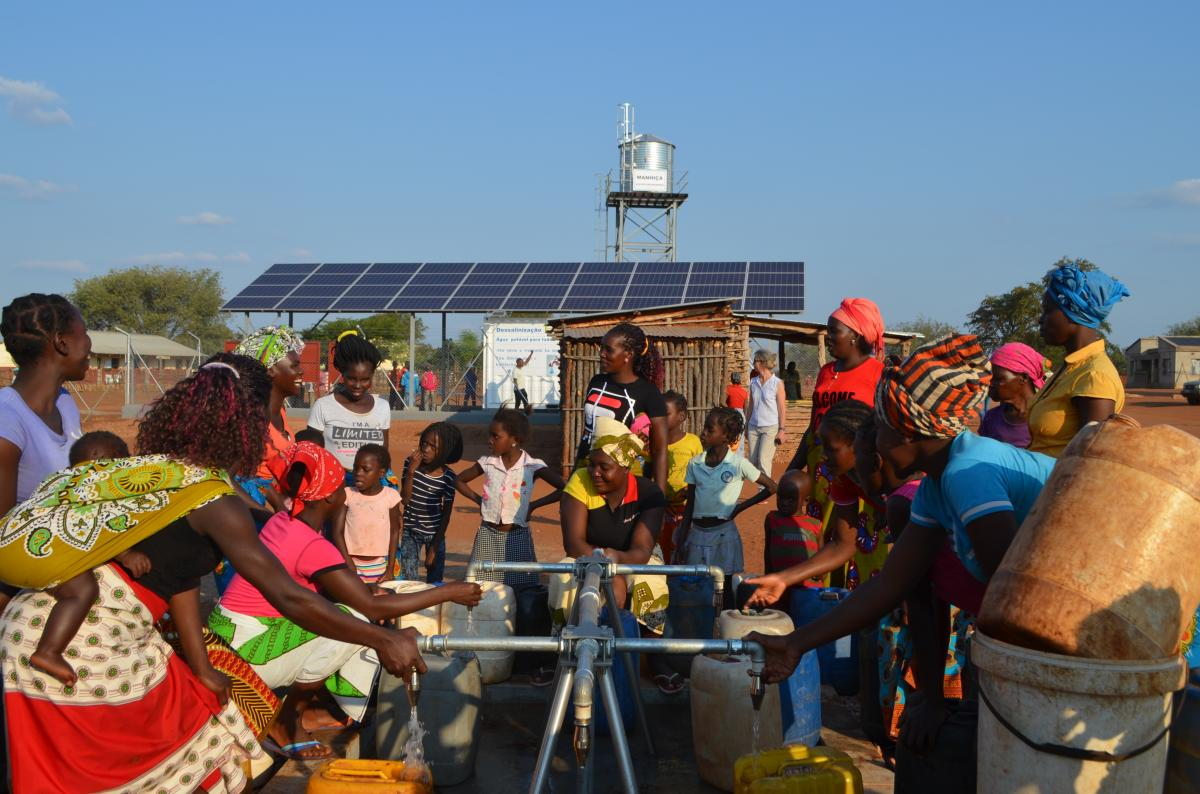 Joint Action of Enabel and Mozambique Guarantees Access to Drinking Water through  Affordable Clean Energy (Sustainable Development Goals 6 + 7)