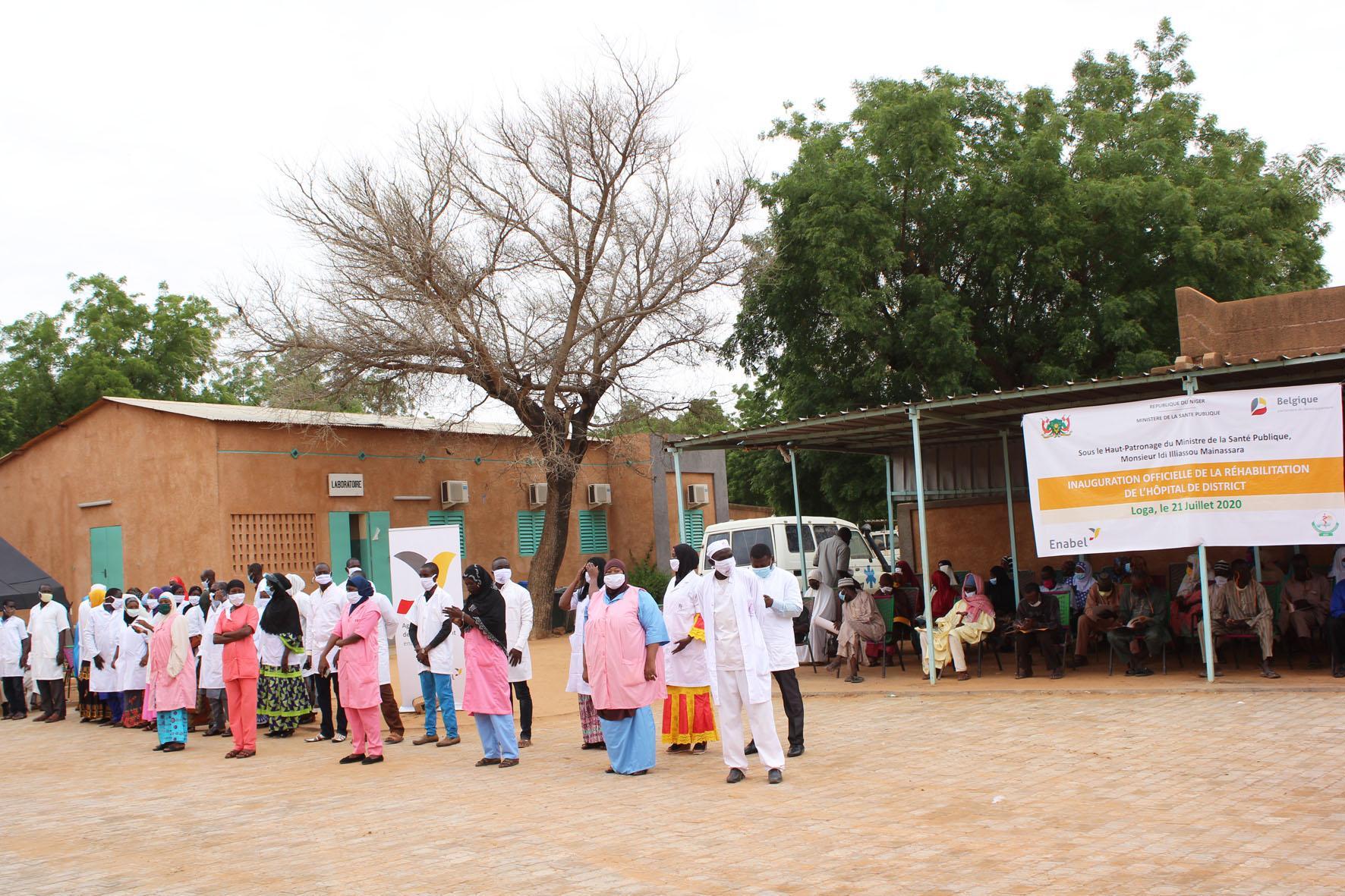 Inauguration des bâtiments réhabilités de l'hôpital de district de Loga dans la région de Dosso – Niger