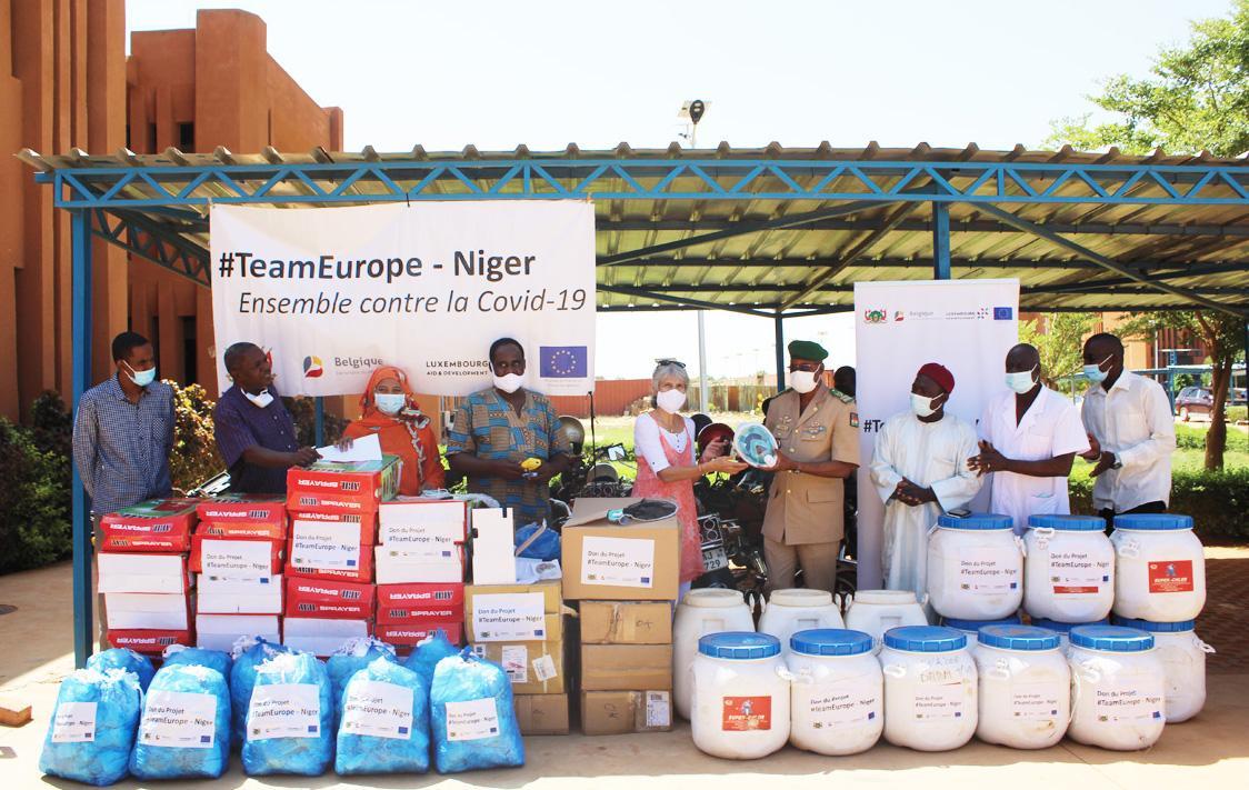 #TeamEurope- Niger solidaire avec l'hôpital de référence de Niamey face à la Covid-19