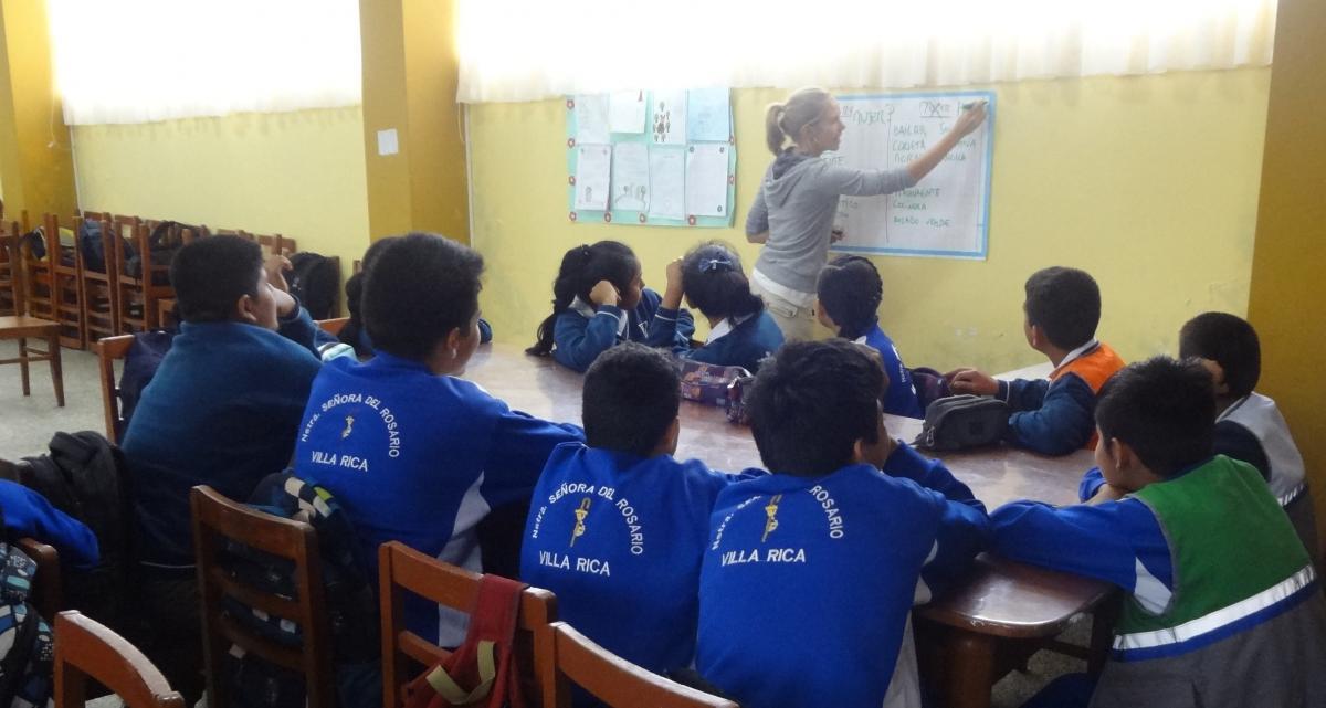 ESTUDIANTES DE INSTITUCIONES EDUCATIVAS DE VILLA RICA Y PALCAZÚ, SE CAPACITAN EN GENERO E INTERCULTURALIDAD