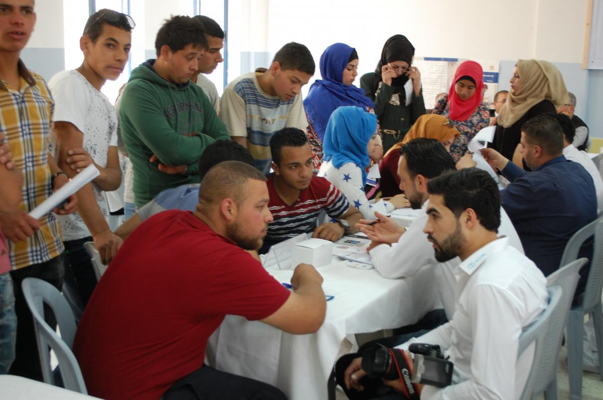 First Career Day for TVET graduates in the West Bank